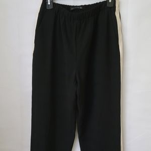 Zara Black Jogger Pants Trousers Size Medium